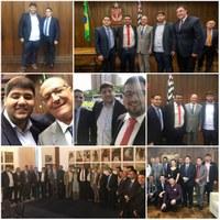 Em São Paulo, vereador Gustavo Nolasco participa do Fórum de Presidentes de Entidades Estaduais de Vereadores
