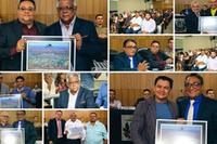 Em Sessão Solene Câmara outorga títulos de cidadania a membros da sociedade