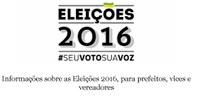 Fique atento ao calendário eleitoral - Eleições 2016