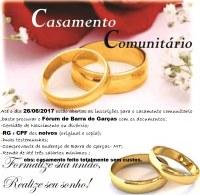 Fórum de Barra do Garças abre inscrições para casamento comunitário
