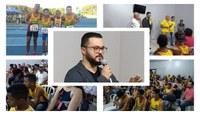 """Procurador da República do Ministério Público Federal em Barra do Garças foi a personalidade do projeto """"De onde eu vim"""""""