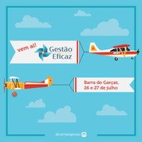 Tribunal de Contas de Mato Grosso está com as inscrições abertas para o programa Gestão Eficaz que acontece na próxima semana em Barra do Garças
