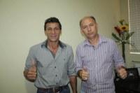 Vereador Rambo de Campinápolis visita a Câmara de Barra do Garças e anuncia sua mudança partidária