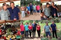 Vereador visita Projeto Descentralizado de Assentamento Sustentável