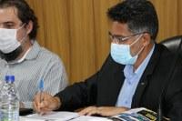 Vereadores de Barra do Garças comemoram Dia do Parlamento e Dia dos Trabalhadores