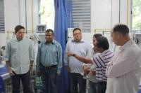 Vereadores e prefeito entregam novos leitos na UTI de Barra do Garças