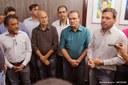Vereadores prestigiam anuncio de recursos para drenagem do anel viário no JD. Nova Barra