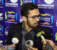 Zé Gota cita abuso por parte da empresa BR Tran e convoca representante para próxima sessão